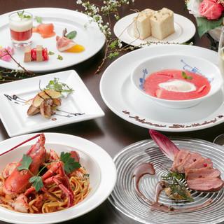 【ディナー】パーティーコース 風 (大皿料理)